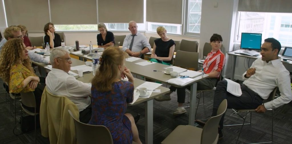 Meeting of patient representative with the Cancer Alliance